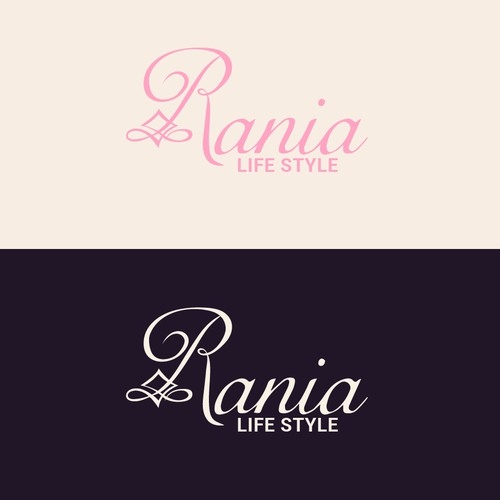 Logo concept for Rania Beauty and Cosmetics
