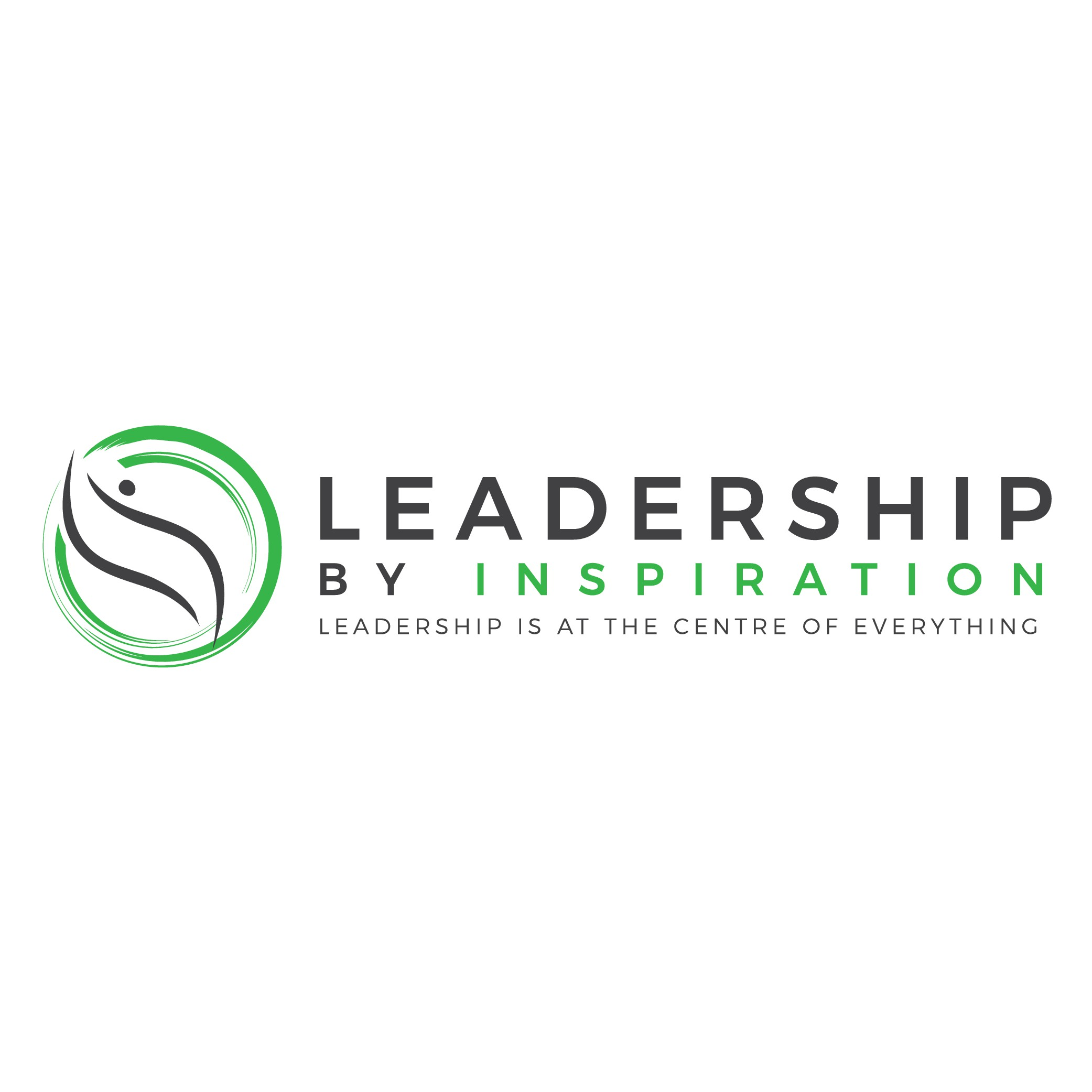 Inspirational logo to inspire leaders and teams in businesses