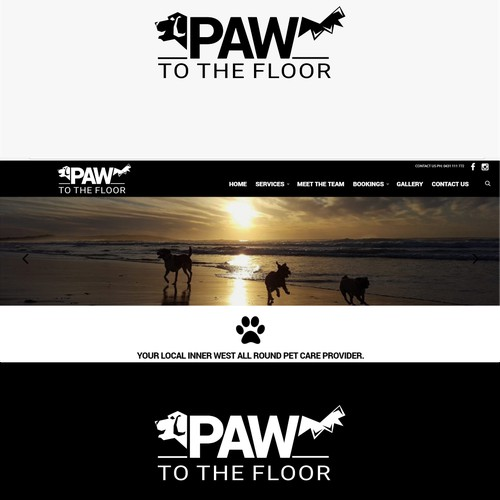 Paw to the floor