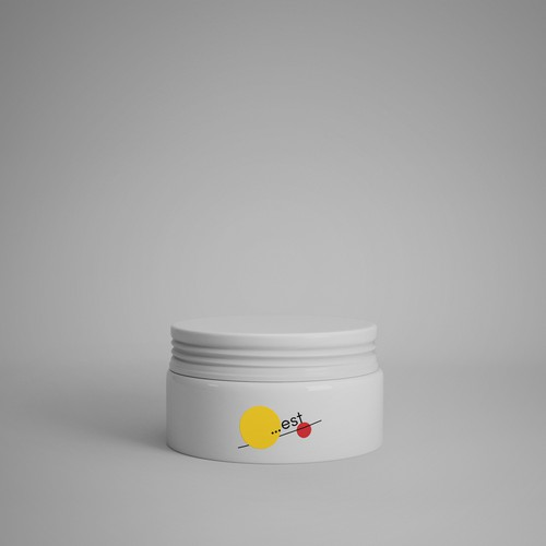 EST logo concept for hairstyling product