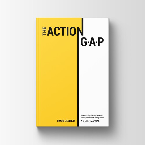 The Action G-A-P book cover design