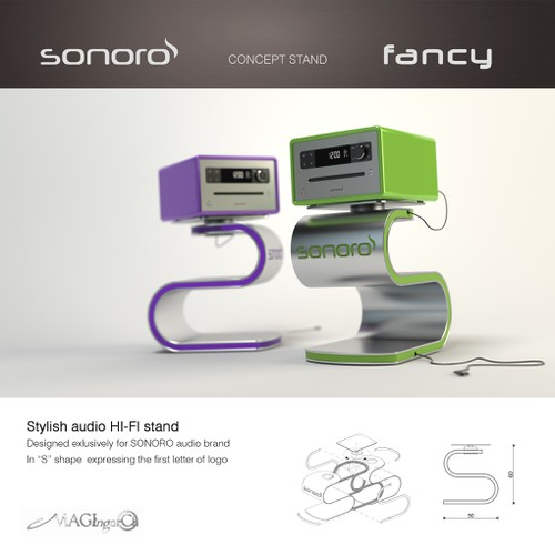 SONORO concept stand - Fancy