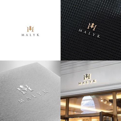 Luxury logo concept for MALYK