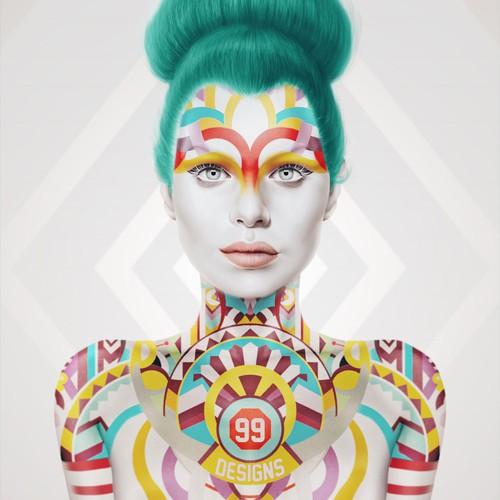 99 designs poster