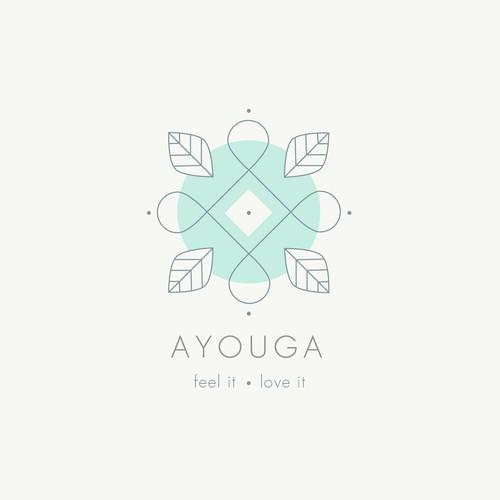 Ayouga logo design