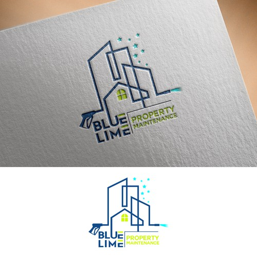 Logo concept for Cleaning & Maintenance Company