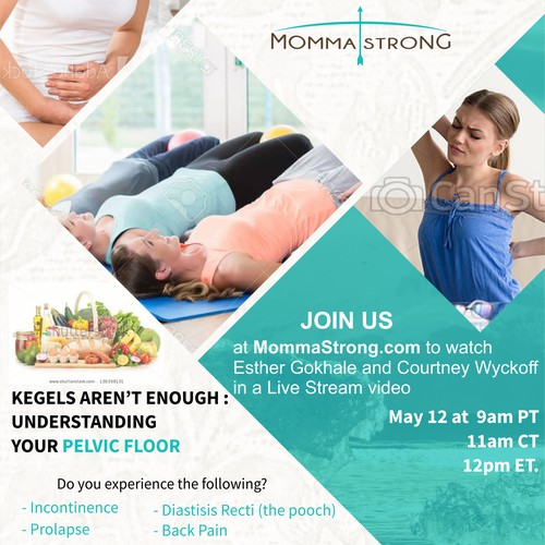 Flyer Designs For MommaStrong