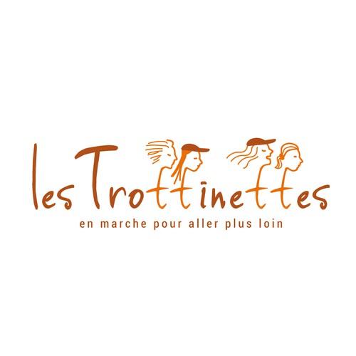 Création du logotype de l'équipe de trek les Trottinettes