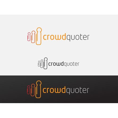 """""""crowdquoter.com"""" NEEDS A BRILLIANT LOGO"""