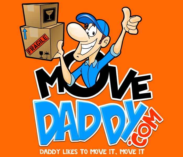 """Help a COOL company """"MoveDaddy.com create a Cartoon Logo for  new Franchise (GUARANTEED WINNER)!"""