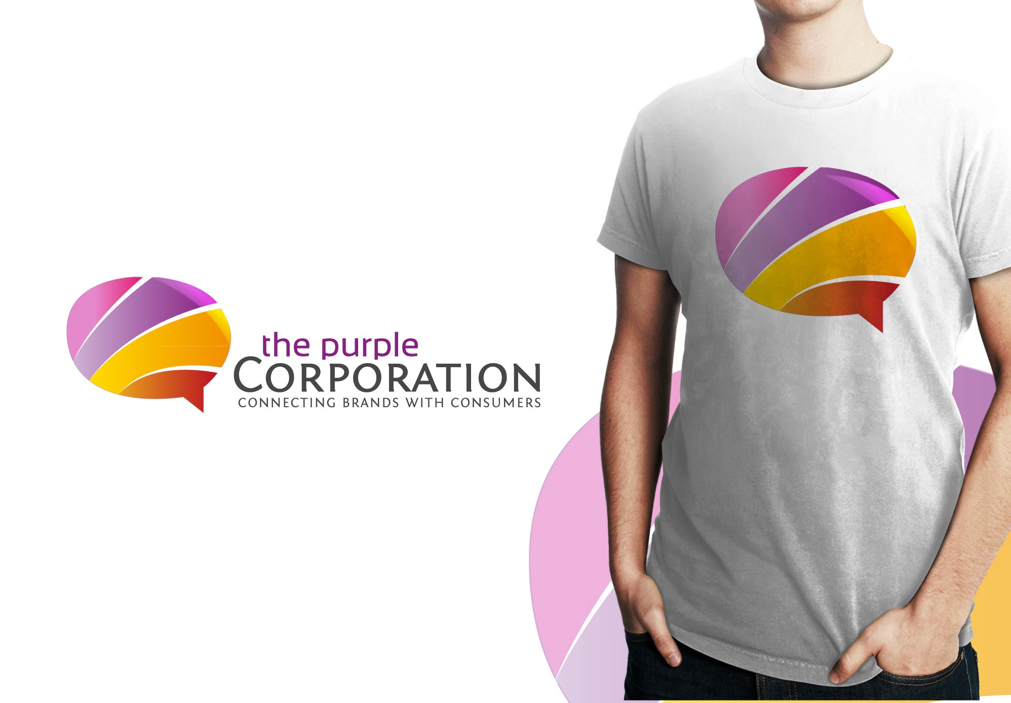 Create the next logo for The Purple Corporation