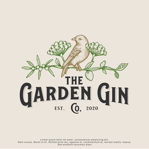 Logo Design for The Garden Gin Co.