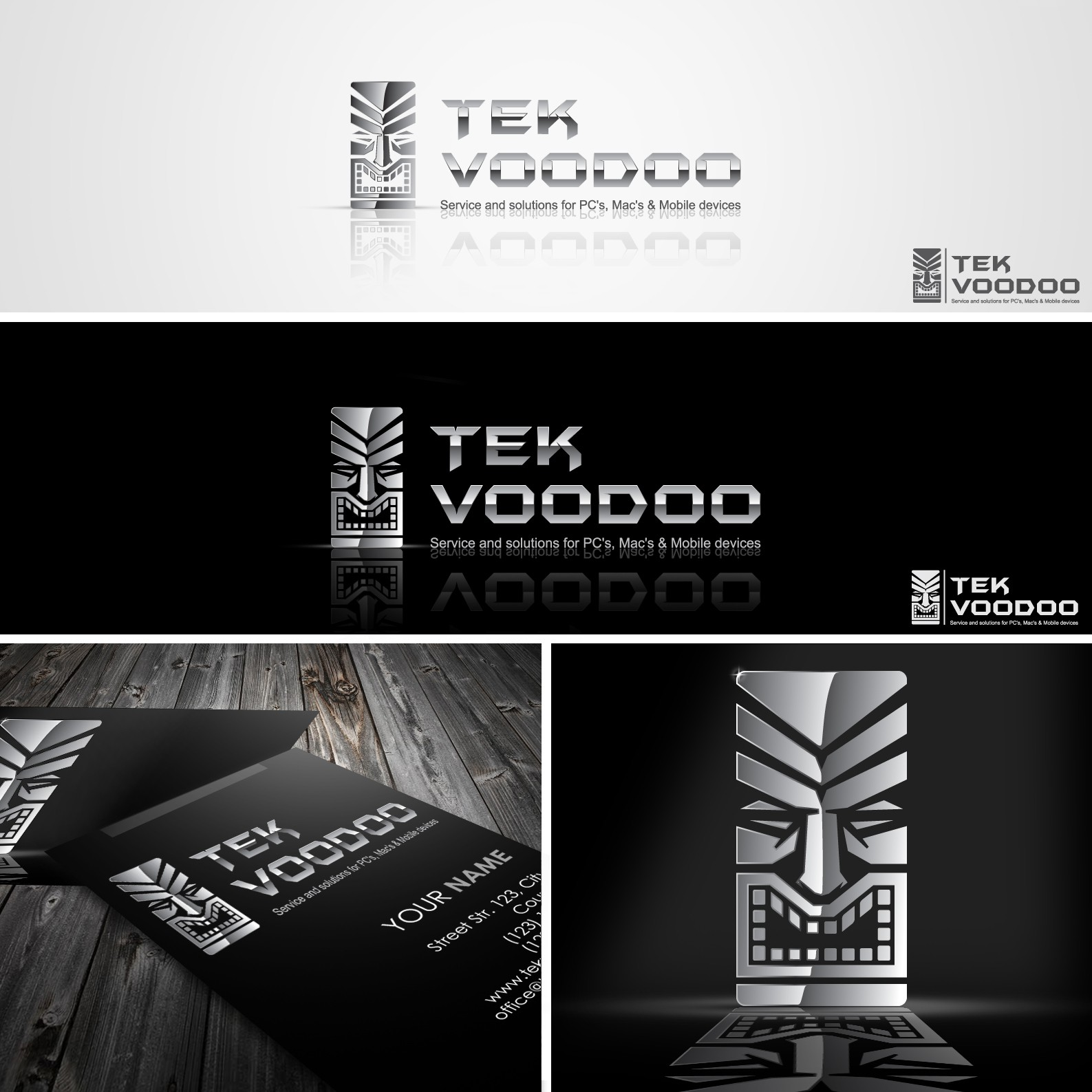 Cool New Logo For Tek Voodoo - Show Me Your Stuff