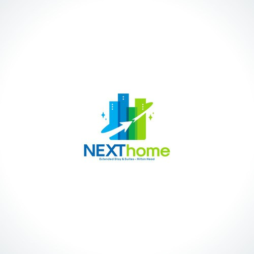 Next Home logo designs concept