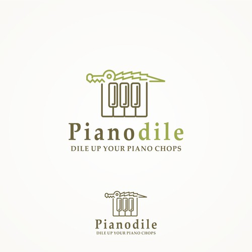 Piano + Crocodile = Pianodile