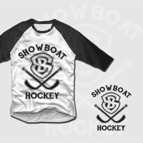 Design a high end brand identity pack for a hockey fashion apparel company.