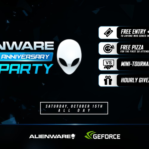Alienware 20th Anniversary LAN Party