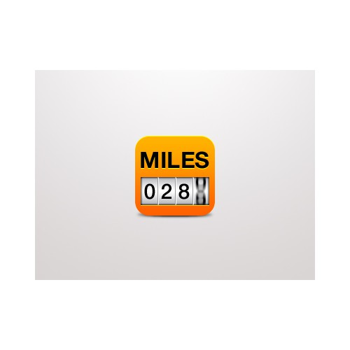 Icon for Mile Tracking app