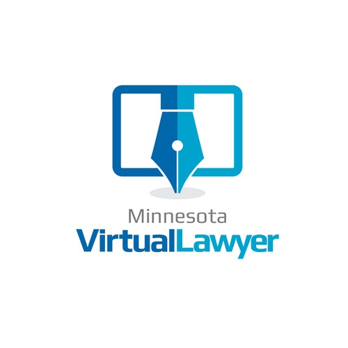 Virtual Lawyer - Logo for innovative technology oriented attorney services