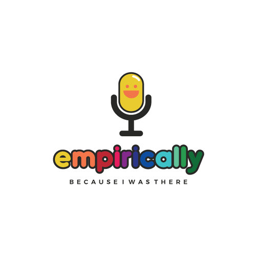Colorful logo for family podcast