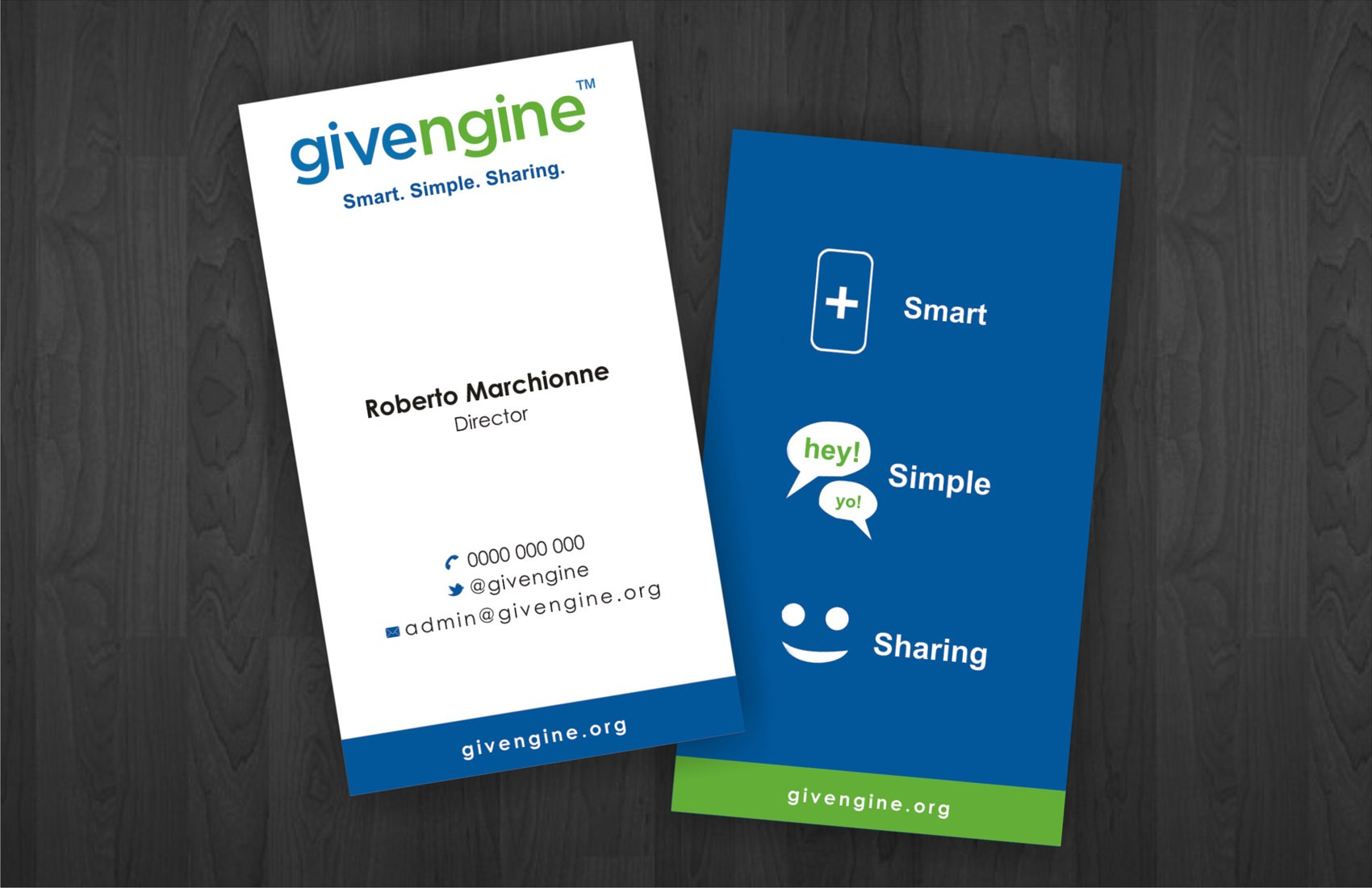 Help givengine with a new stationery