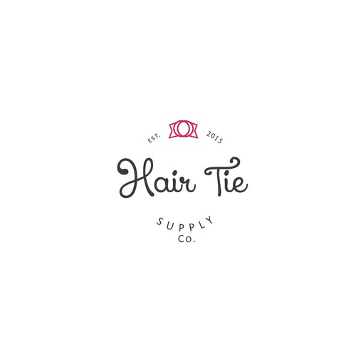 Girls Hair Tie Company Logo