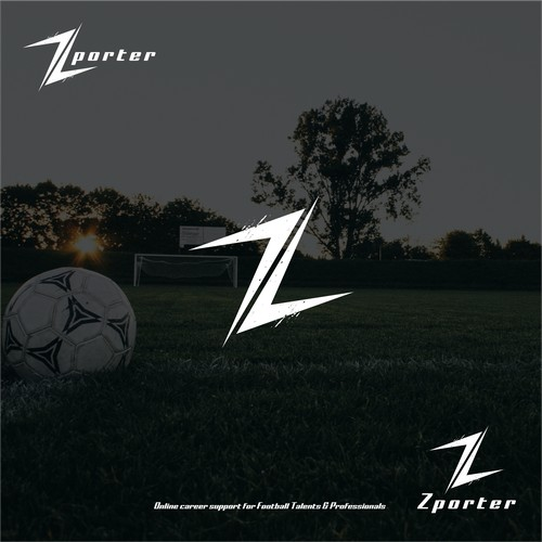 sporty and cool logo featuring the letter z