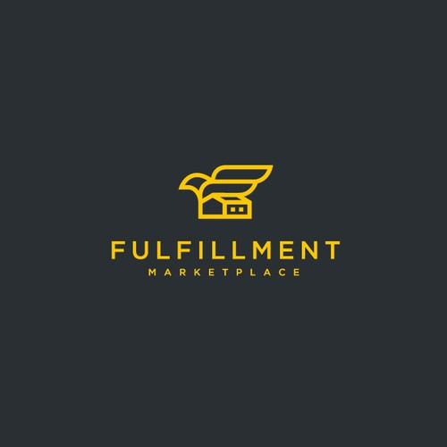Logistics Startup Needs a future forward logo