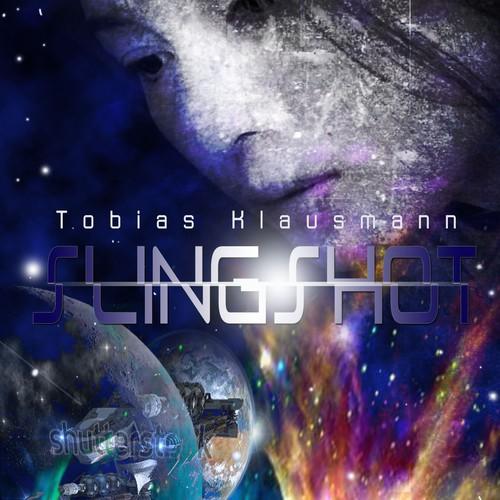 """Book cover for SF novel """"Slingshot"""""""