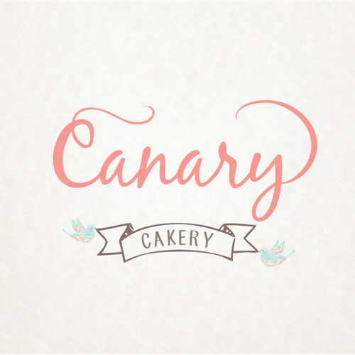 Create a winning logo for cake company in Canary Wharf London