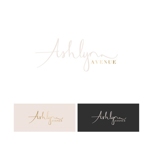Logo for a trendy accessory jewelry line