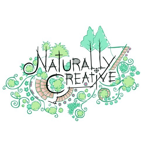 naturally creative  needs a new logo