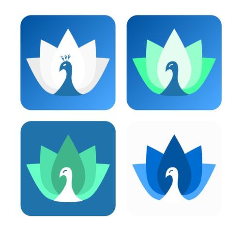 minimal app logo