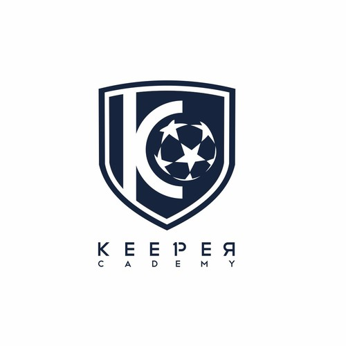 bold logo concept for Keeper Academy