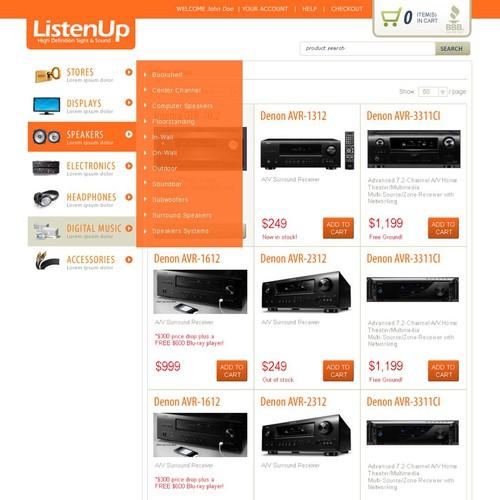 ListenUp Webstore