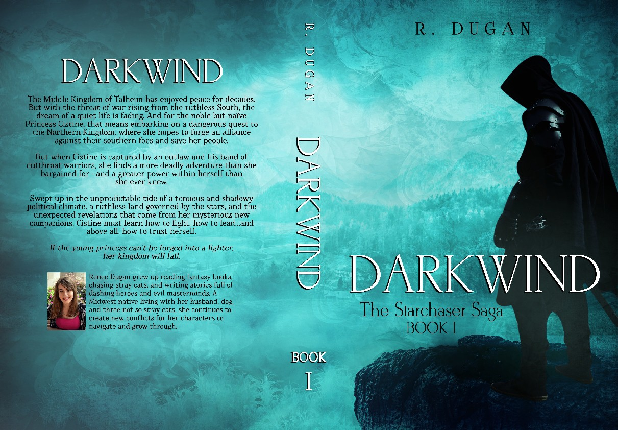 Starchaser Book 1 (DARKWIND) Cover Design :)