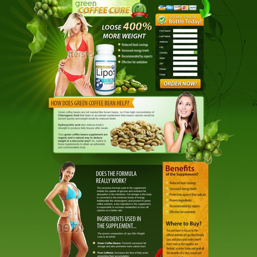 Coffee Bean Extract Weight Loss Supplement