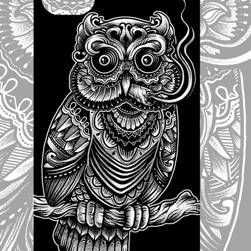 Illustration for iPhone case