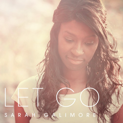 CD Cover 'LET GO' album cover by Sarah Gallimore