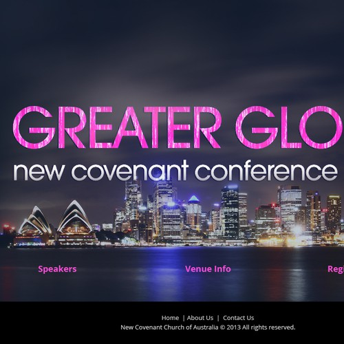 New Conference website needed for Pentecostal Church!