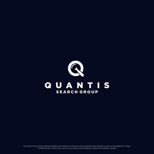 Simple and Bold Quantis Logo