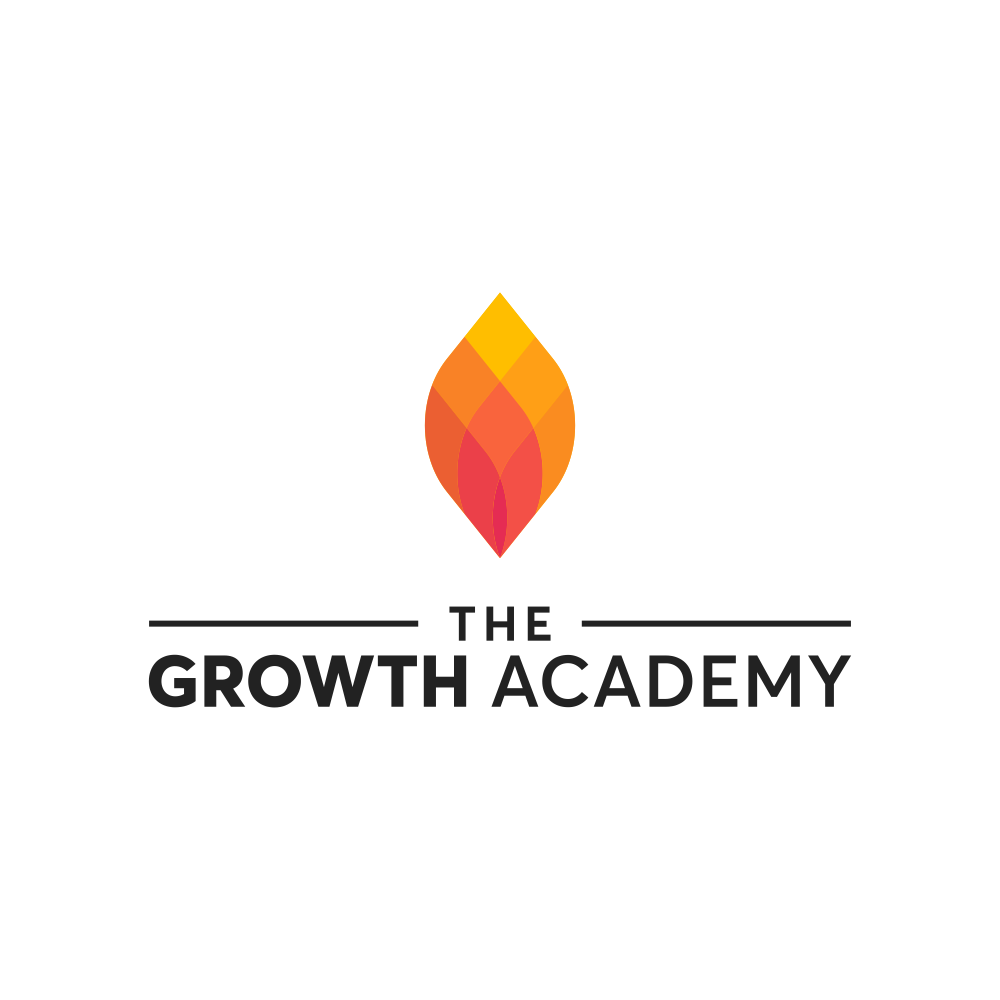 The Growth Academy - Igniting and inspiring people's lives... Logo design