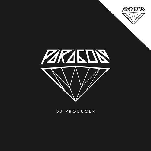 """Bold logo for """"DJ Paragon"""""""