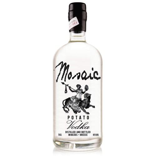Design the bottle for the only Greek Potato Vodka