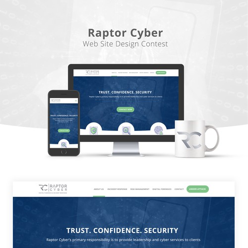 Raptor Cyber Web Site Design