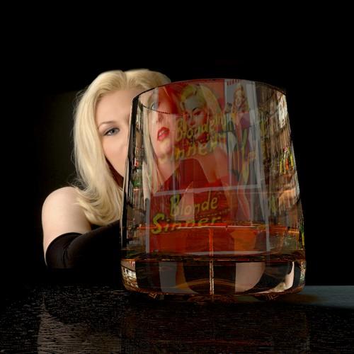 Bourbon Legend:  Album Art for Bluesy Mystery Song