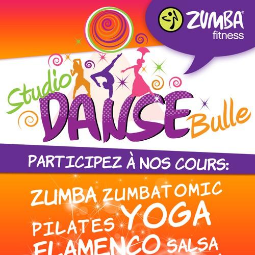 Aidez Studio Danse Bulle avec un nouveauAffiche publicitaire