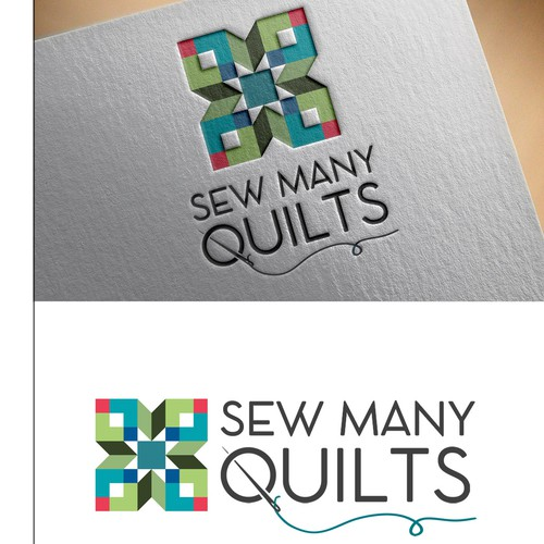 Logo for the quilt store