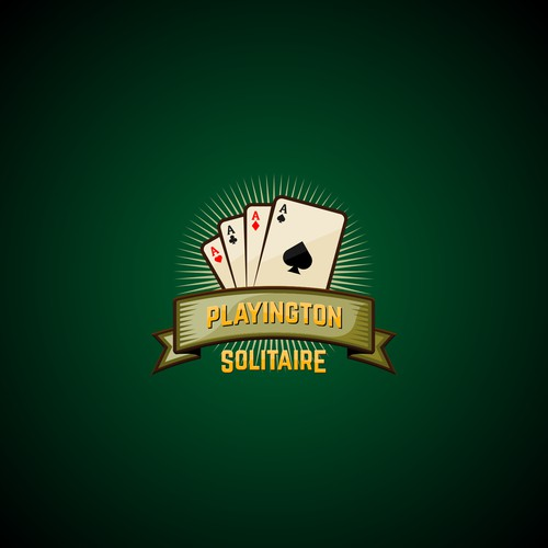logo for Playington Solitaire