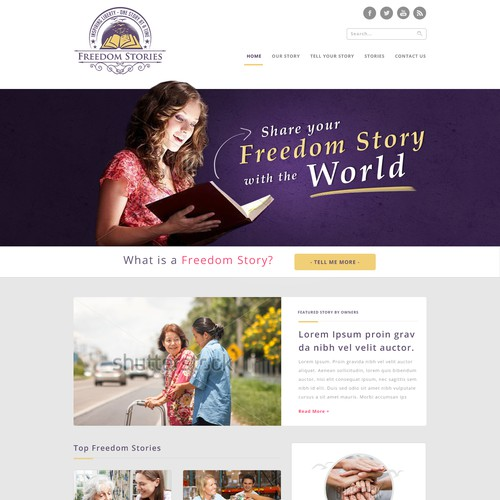 Template of blog